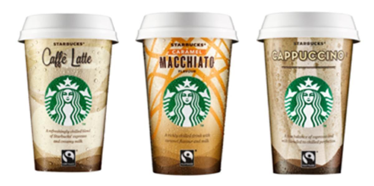 Starbucks bringt neues Verpackungsdesign auf den Markt