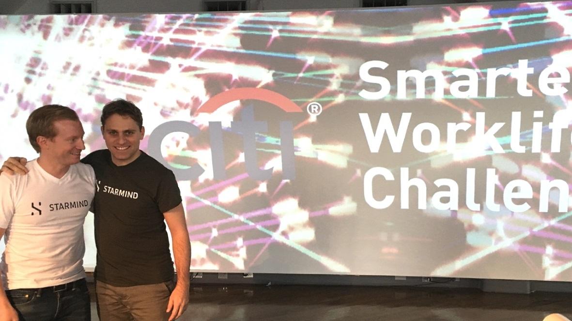 Zürcher Start-up Starmind bei der Citi Smarter Worklife Challenge als Sieger ausgezeichnet