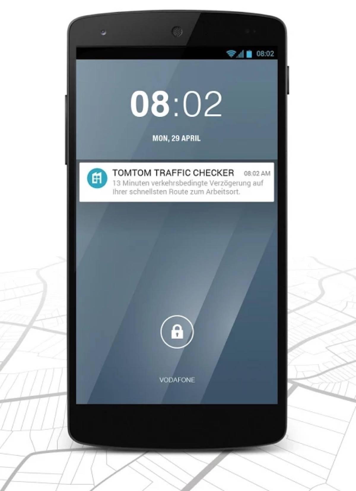 TomTom lanciert einen Traffic Checker für die TomTom MyDrive App