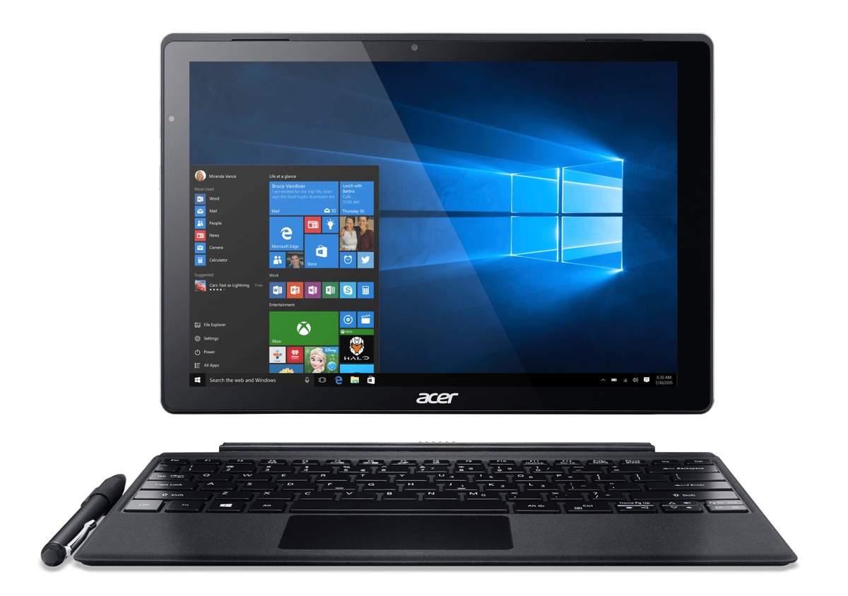 Acer Switch Alpha 12 – 2-in-1 mit innovativer Flüssigkeitskühlung
