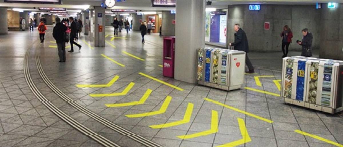 Staufrei durch den Bahnhof Bern
