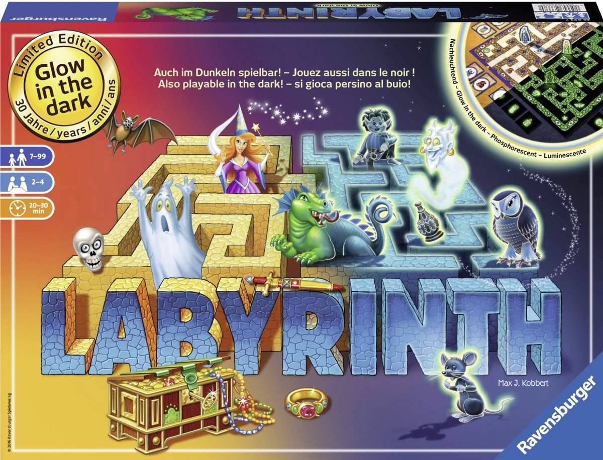 Das verrückte Labyrinth leuchtet zum Jubiläum