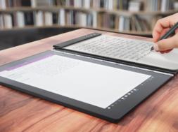 Lenovo lanciert mit dem Yoga Book
