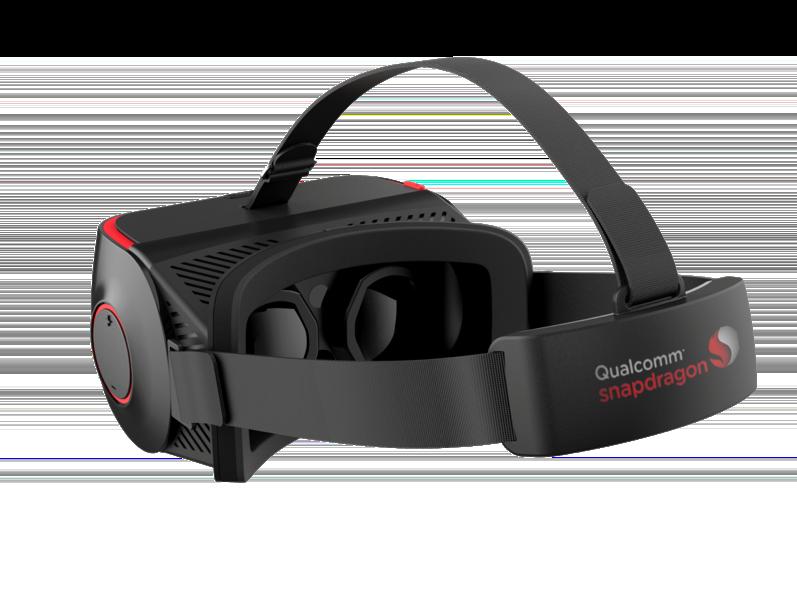 Qualcomm Virtual-Reality-Brille und Smartwatch