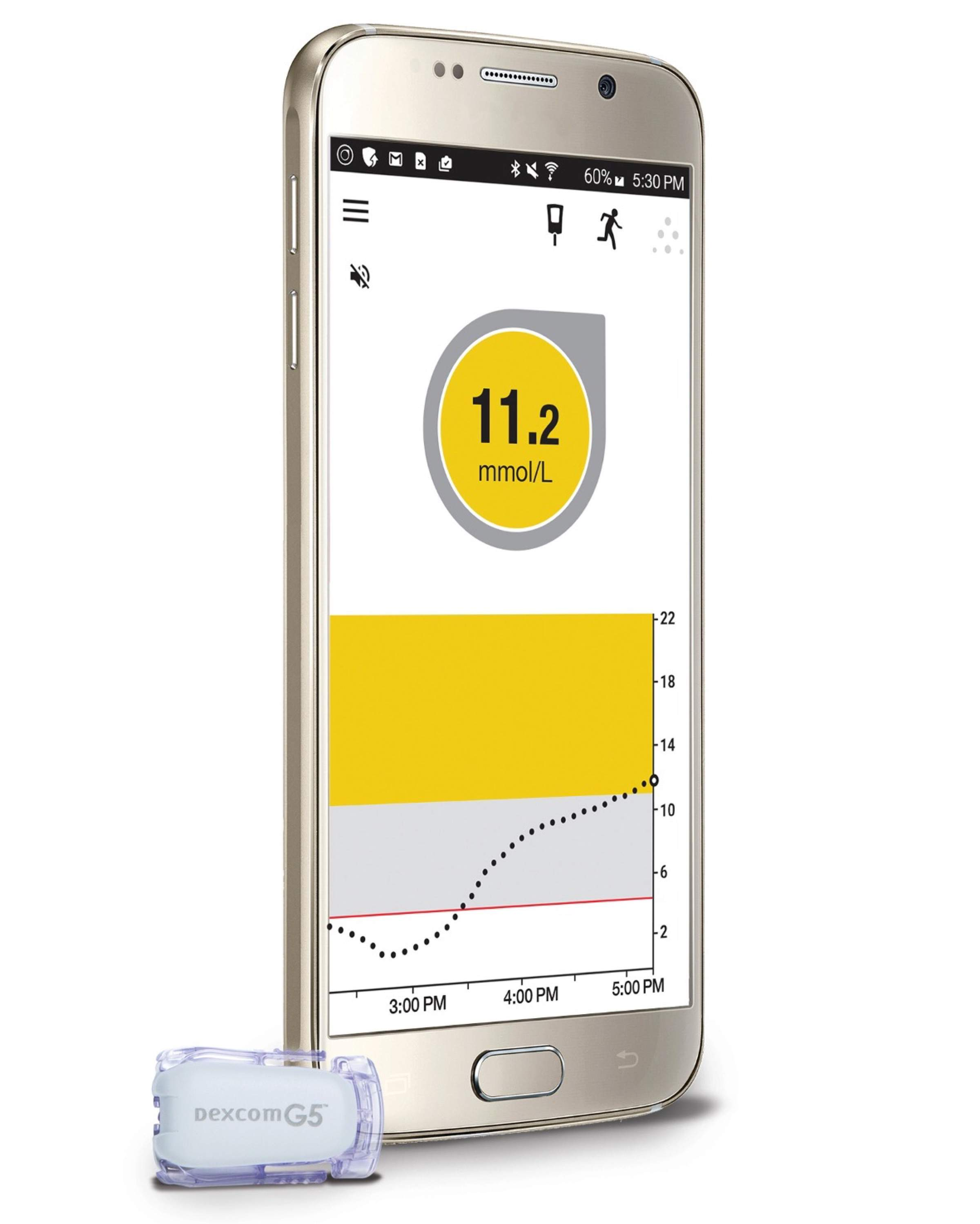 Dexcom – Glukose-Monitoring neu auch auf Android-Devices