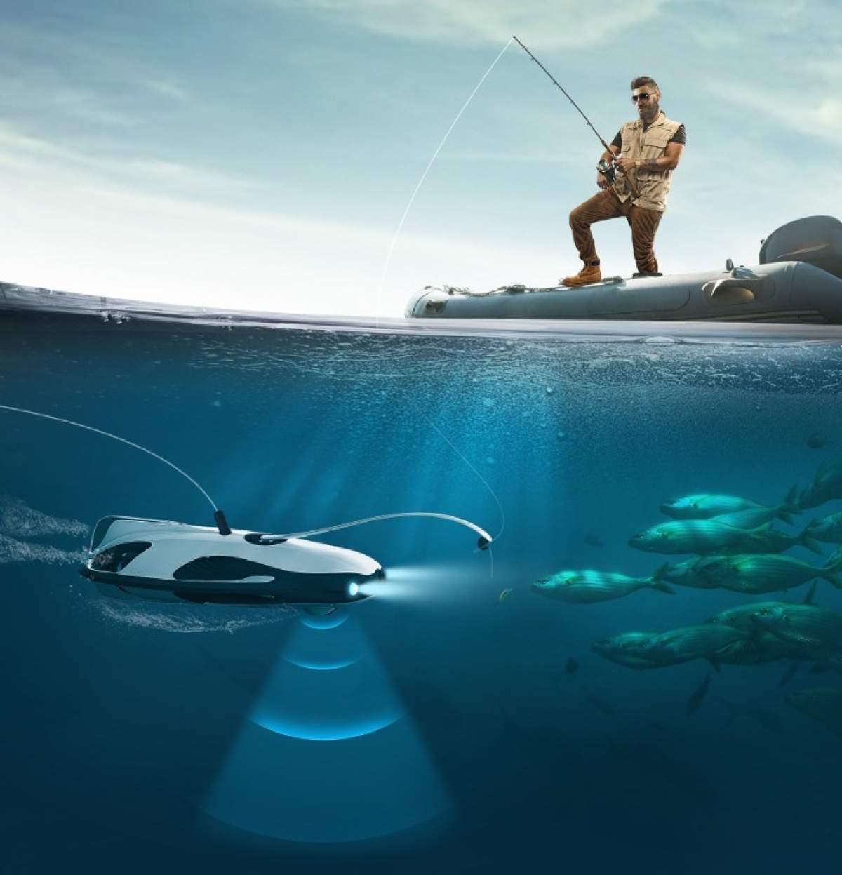 Fischen 4.0 – mit dem PowerRay von PowerVision