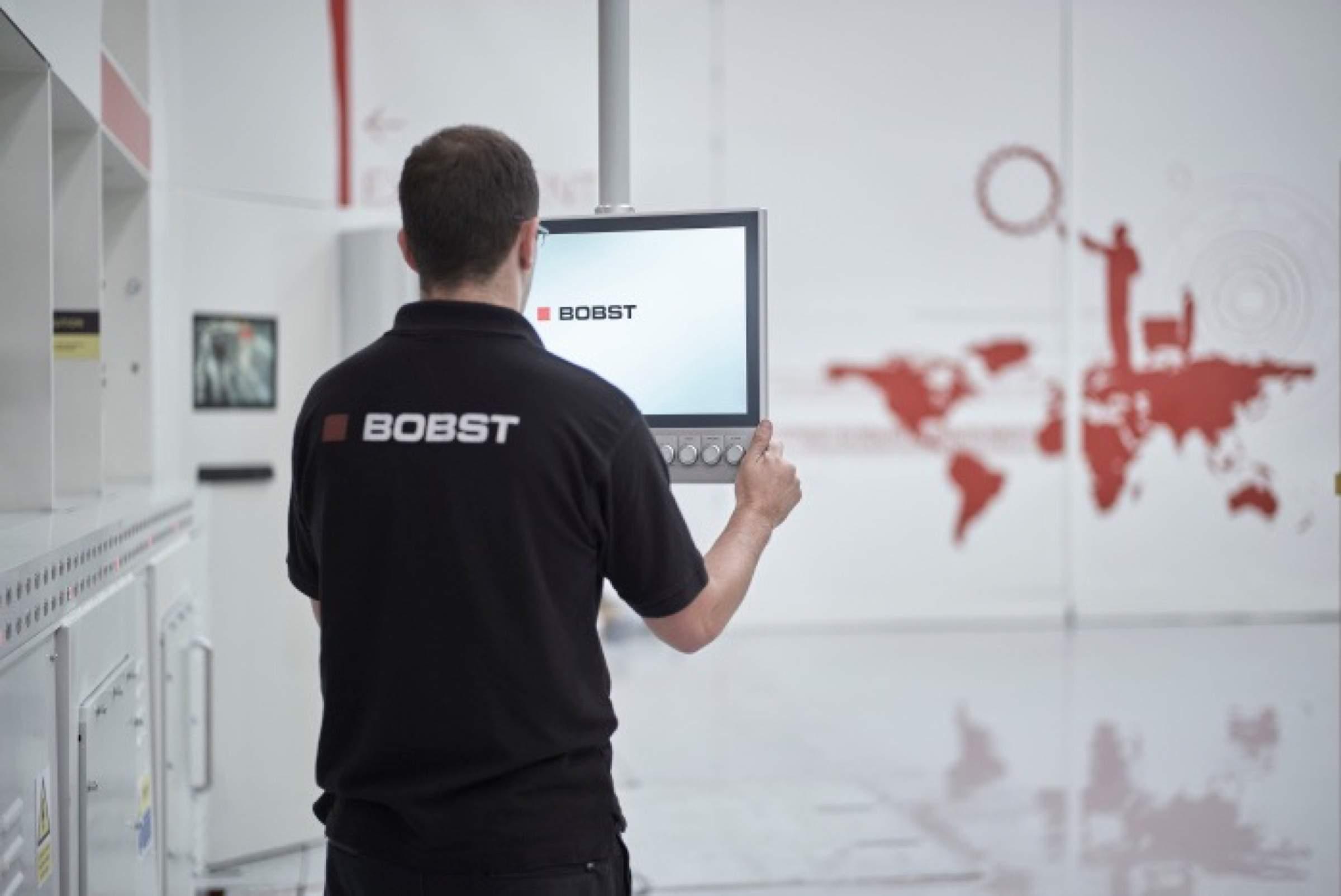 Bobst – Eintüten mit Riverbed