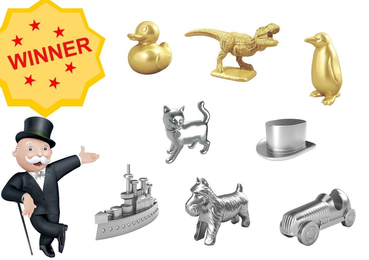 Monopoly Figuren-Fieber: Die Sieger stehen fest