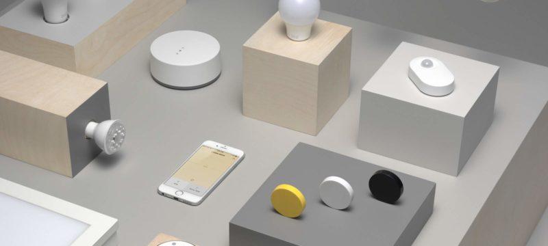 Trådfri: Smart-Lighting-System von Ikea startet im April