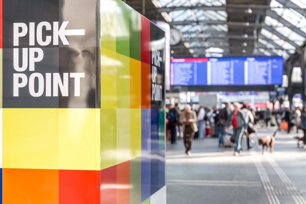 BRACK.CH-Päckli am Zürcher Hauptbahnhof abholen