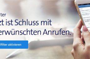 Callfilter – keine Werbeanrufe mehr