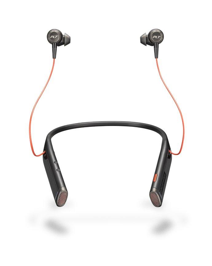 Plantronics erstes Bluetooth-Business-Headset mit Nackenbügel – Voyager 6200 UC
