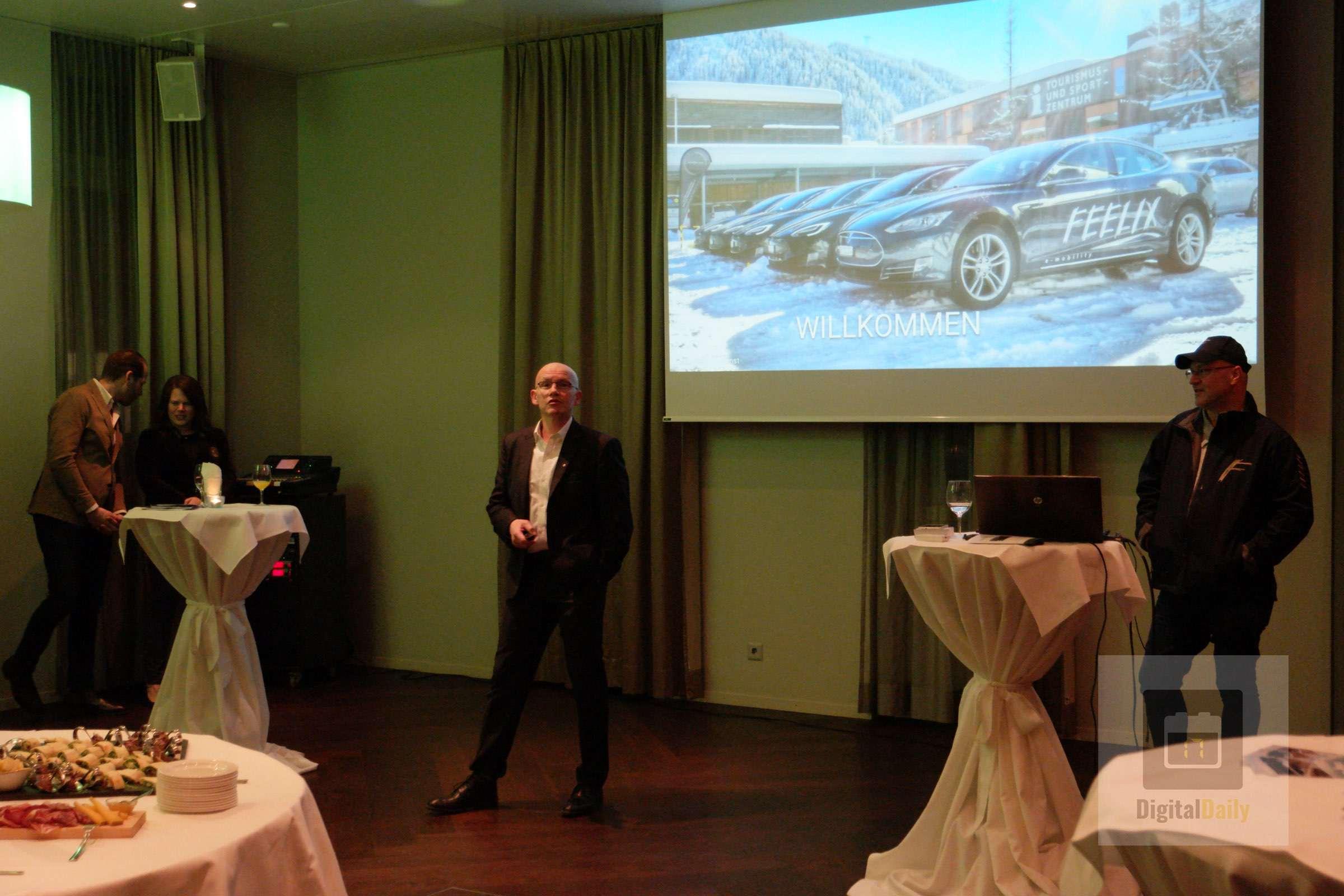 Feelix AG feiert die Standorteröffnung in Luzern – Hotel Continental-Park