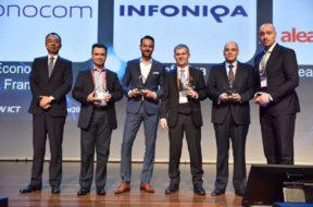 Huawei ehrt Infoniqa als Partner des Jahres