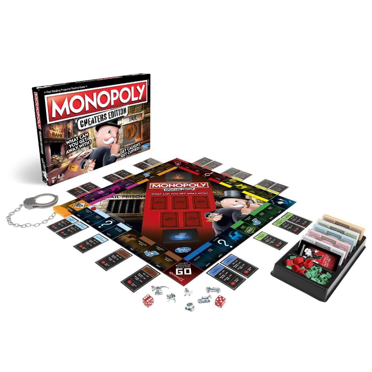 Mr. Monopoly feiert mit Schummlern – eigene Edition für die Unverbesserlichen