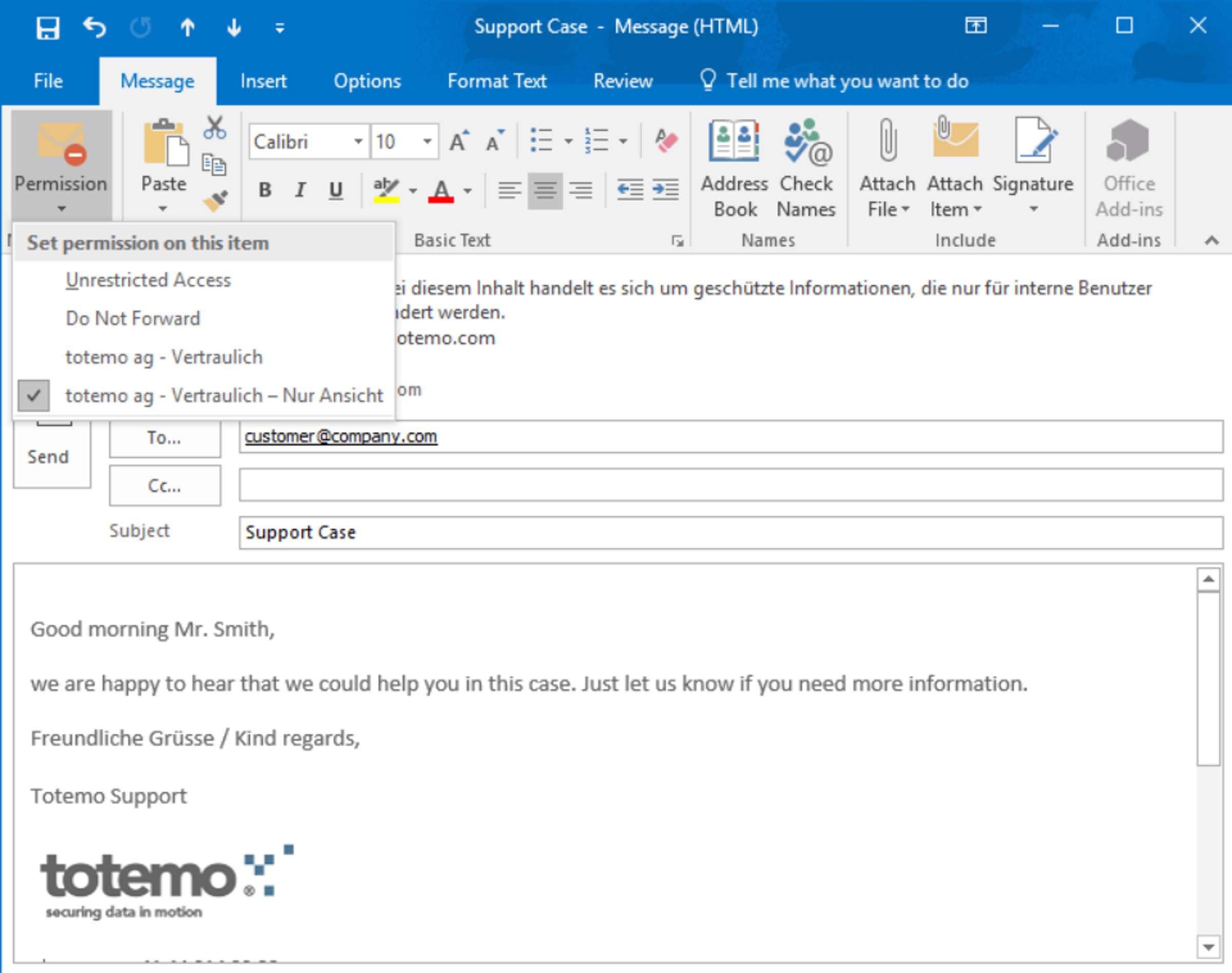 totemo integriert Microsoft Azure Information Protection in E-Mail-Verschlüsselungslösung