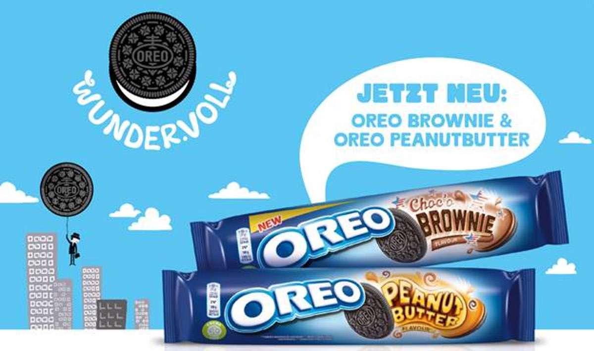OREO Choc'o Brownie und Peanut Butter