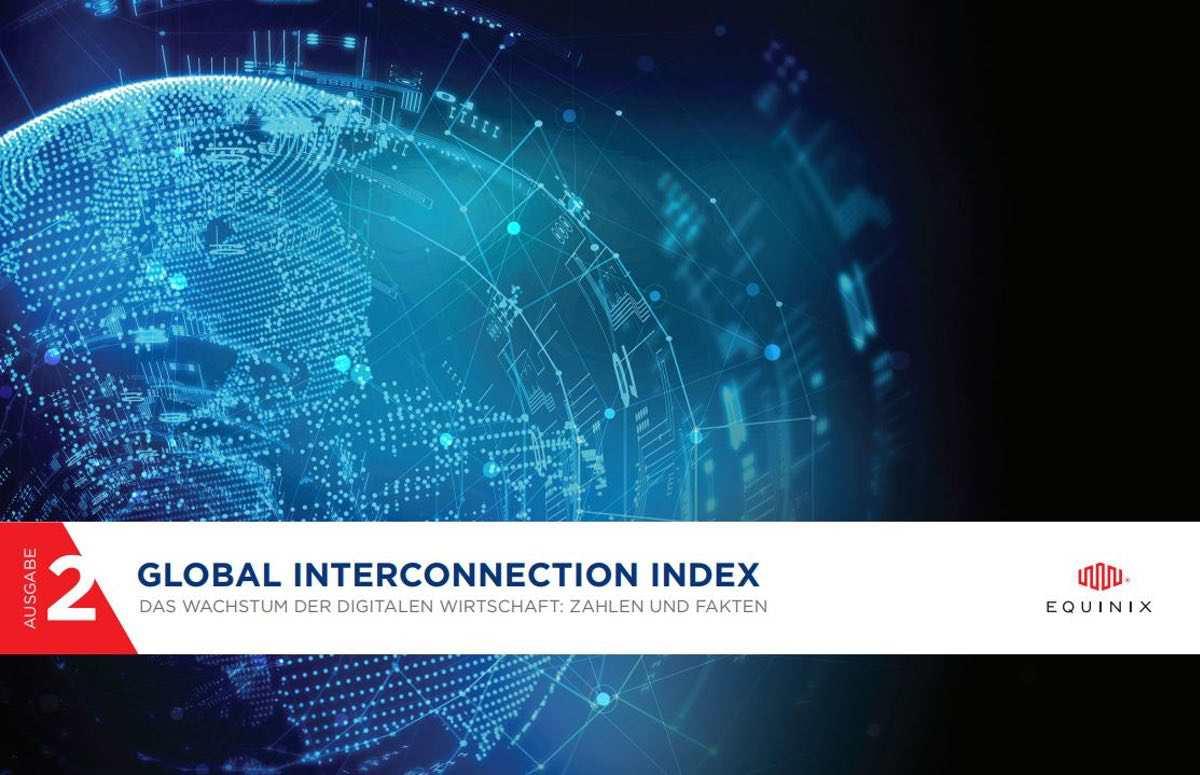 Equinix – Privater Datenaustausch wächst auf fast 10-faches Datenvolumen
