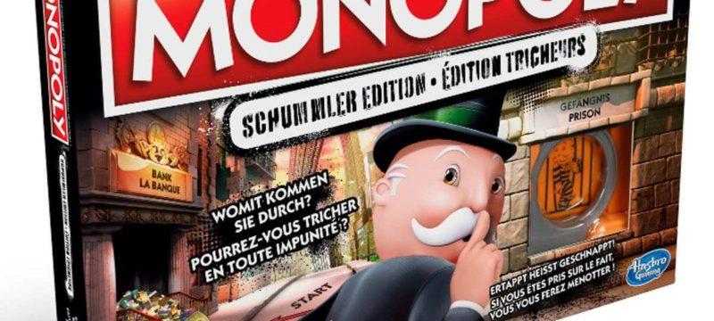 Lügen haben kurze Beine – ausser bei der Monopoly Schummler Edition