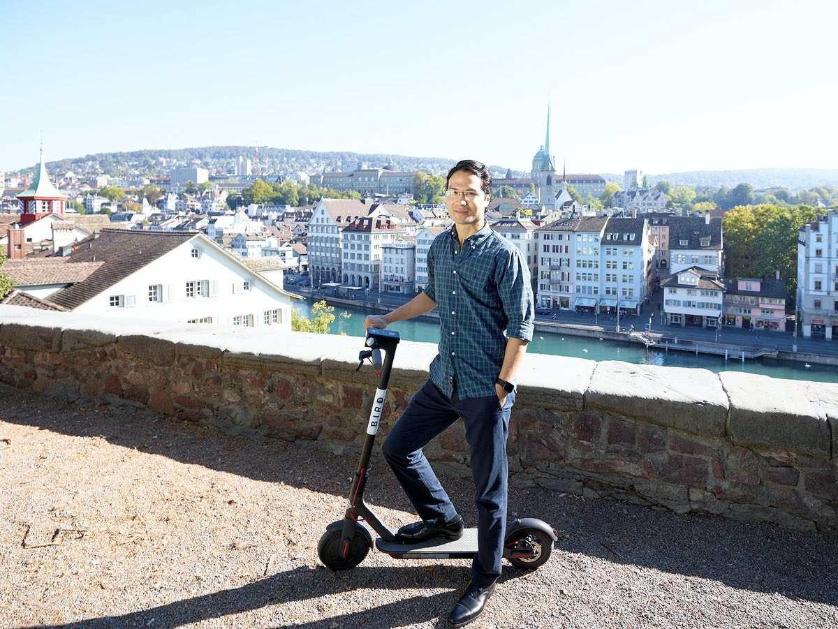 E-Trottinett Anbieter Bird landet in Zürich