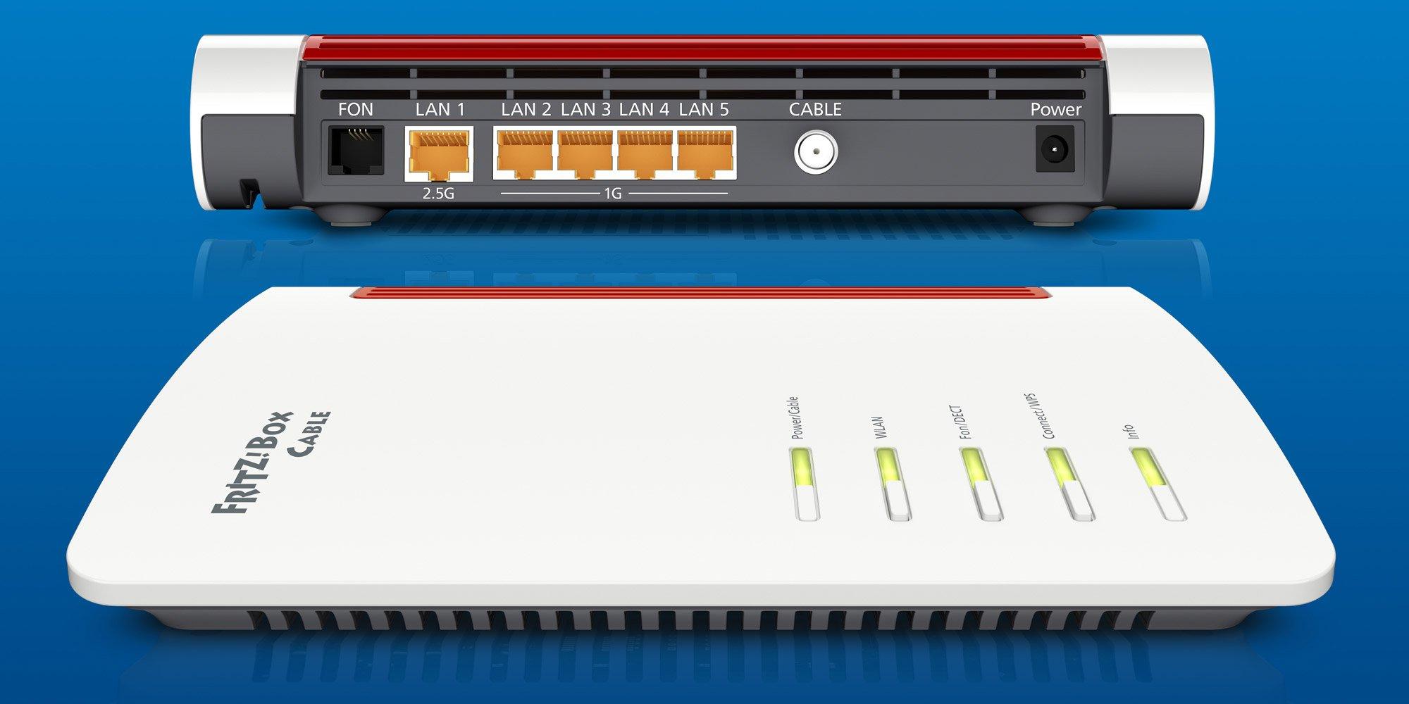 FRITZ!Box 6660 Cable, der ultimative Router für Kabelnetze, feiert Premiere auf der ANGA Com