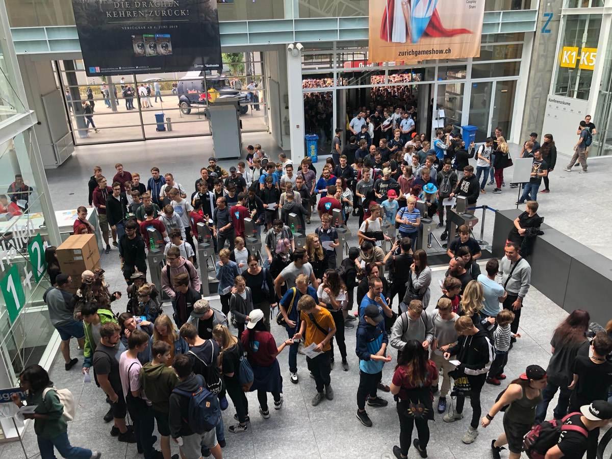 Was haben Spielpremieren und einen Netzwerkspezialisten gemeinsam? – Zurich Gameshow 2019