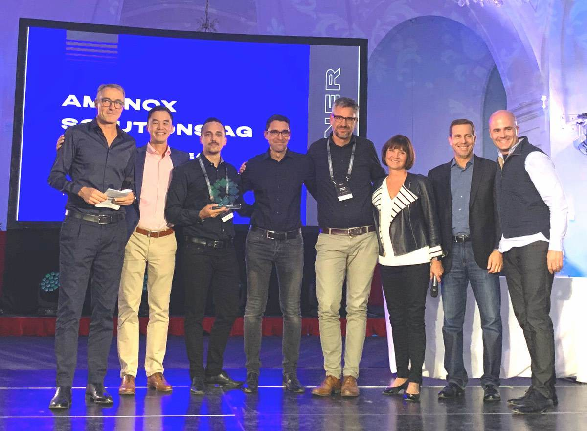 Amanox gewinnt Project of the Year 2019 Award von Rubrik