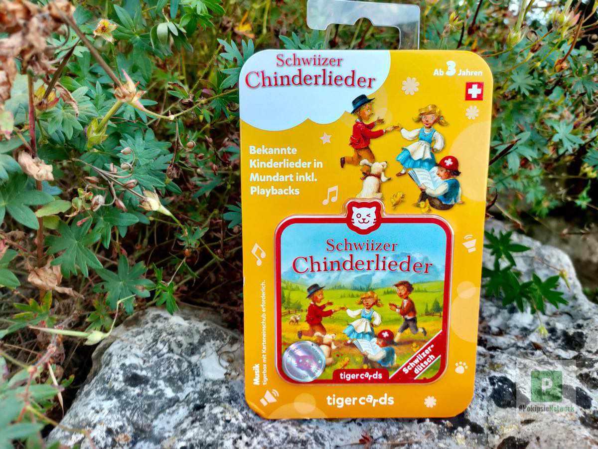 Schweizer Chinderlieder für die Tigerbox